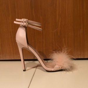 Topshop Fluffy Stilettos